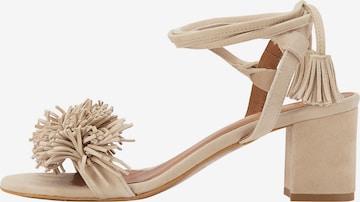 IZIA Sandale in Beige