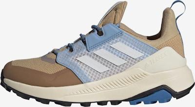 ADIDAS PERFORMANCE Lage schoen in de kleur Beige / Lichtblauw / Wit, Productweergave