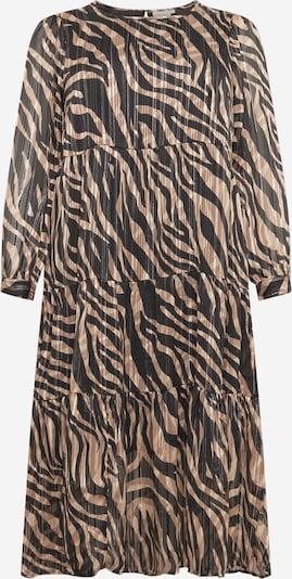 KAFFE CURVE Kleid 'Venke' in champagner / schwarz / weiß, Produktansicht