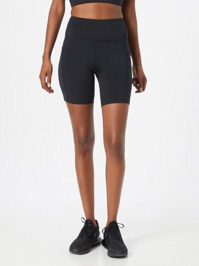 Marika Sportshorts 'LEX' in schwarz / weiß, Modelansicht