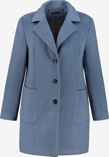 Ulla Popken Wintermantel in de kleur Lichtblauw, Productweergave