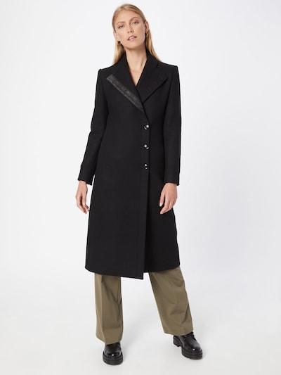 Love Moschino Płaszcz przejściowy w kolorze kolory błotniste / czarnym, Podgląd na modelu(-ce)