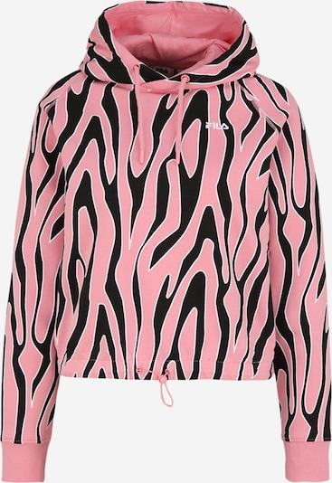 FILA Sweatshirt 'EMBLA' in rosa / schwarz / weiß, Produktansicht