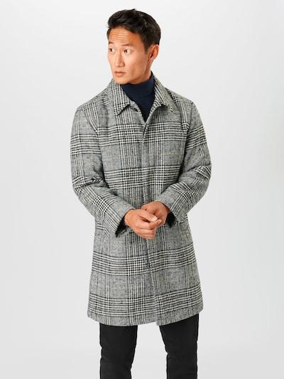 Lindbergh Manteau mi-saison en noir / blanc, Vue avec modèle