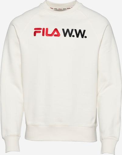 FILA Sweatshirt 'ARTHUR' in beige / rot / schwarz, Produktansicht