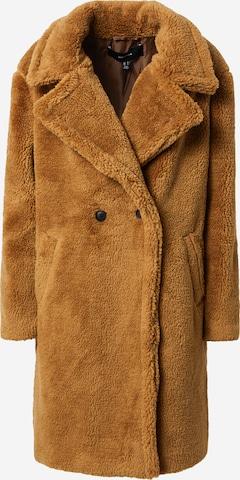 VERO MODA Ανοιξιάτικο και φθινοπωρινό παλτό 'SCARLET' σε καφέ