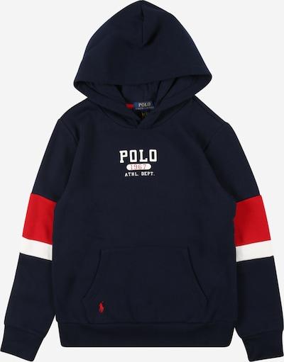Polo Ralph Lauren Sweat en marine / rouge / blanc, Vue avec produit