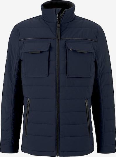 TOM TAILOR Jacke in dunkelblau / schwarz, Produktansicht