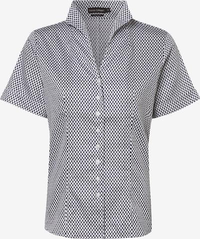 Franco Callegari Bluse in marine / weiß, Produktansicht