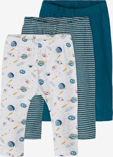 NAME IT Leggings in Pastel blue / Yellow / mottled grey / White, Item view