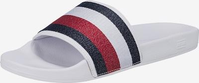 TOMMY HILFIGER Pantofle - námořnická modř / červená / bílá, Produkt