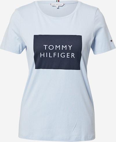 Tricou TOMMY HILFIGER pe albastru deschis / albastru închis / roși aprins, Vizualizare produs