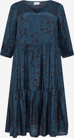 KAFFE CURVE Kleit, värv sinine