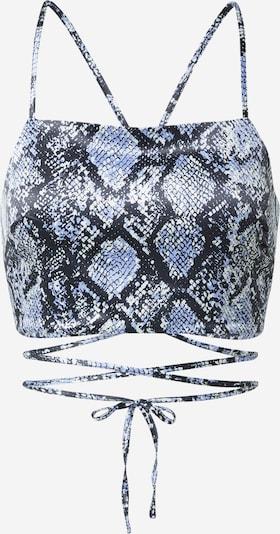SHYX Top 'Lexa' - dymovo modrá / čierna / šedobiela, Produkt