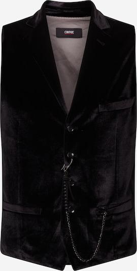 Vestă de costum CINQUE pe negru, Vizualizare produs