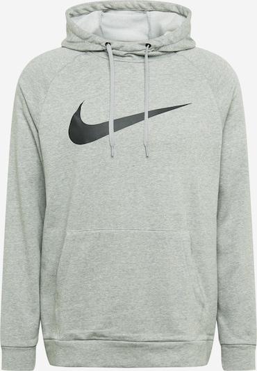 NIKE Sportsweatshirt in graumeliert / schwarz, Produktansicht