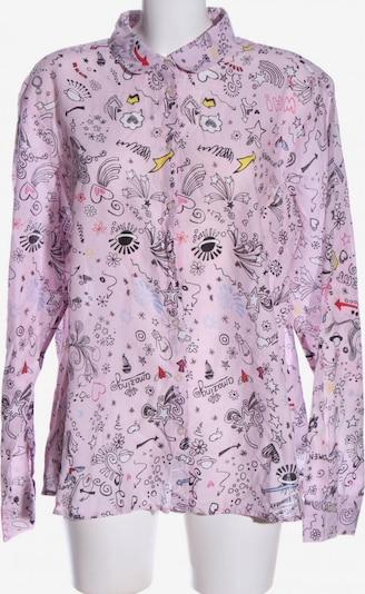 Emily Langarmhemd in 4XL in pink / schwarz / weiß, Produktansicht