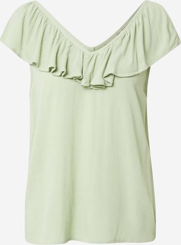 ICHI Bluse in Grün