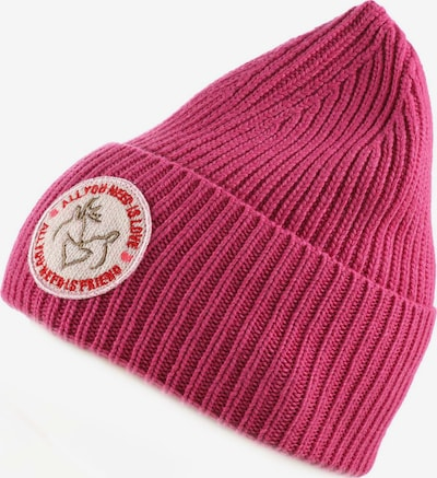 Zwillingsherz Beanie 'All You Need' in Wine red, Item view