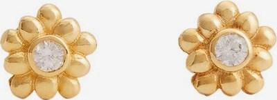 MANGO KIDS Ohrringe 'Rachel' in gold / transparent, Produktansicht