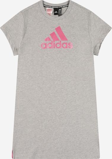 Sportinė suknelė iš ADIDAS PERFORMANCE, spalva – margai pilka / rožinė, Prekių apžvalga