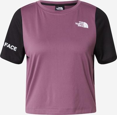 THE NORTH FACE Functioneel shirt in de kleur Pruim / Zwart, Productweergave