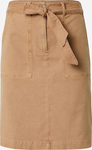 WHITE STUFF Skirt in Brown