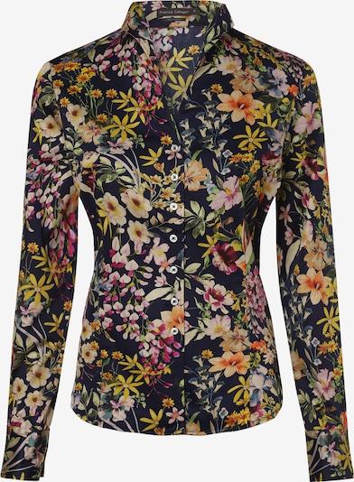 Franco Callegari Bluse in mischfarben / schwarz, Produktansicht