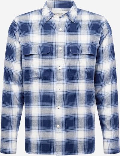 Abercrombie & Fitch Košeľa - námornícka modrá / biela, Produkt