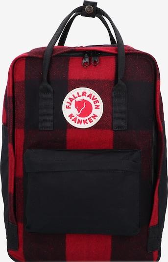 Fjällräven Rucksack 'Kånken' in rot / schwarz, Produktansicht