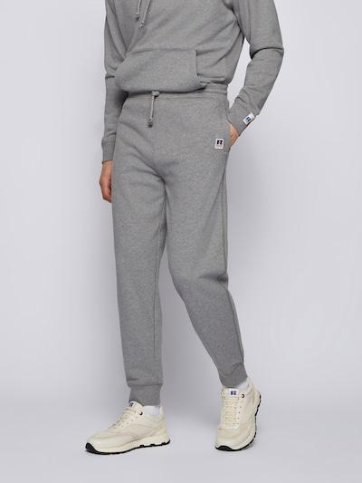 Pantaloni 'Jafa' BOSS Casual di colore blu / grigio / rosso / bianco, Visualizzazione modelli