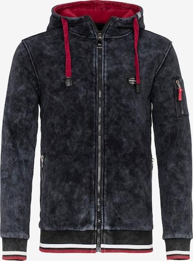 CIPO & BAXX Sweatvest in de kleur Zwart, Productweergave