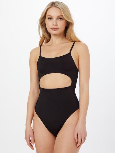 OW Intimates Badpak 'SEA' in de kleur Zwart, Modelweergave