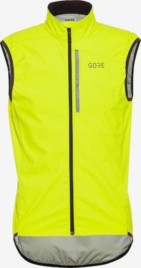 GORE WEAR Fahrradweste 'Spirit Vest' in neongelb / grau, Produktansicht
