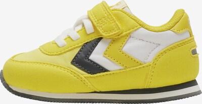 Hummel Sneaker in gelb / schwarz / weiß, Produktansicht