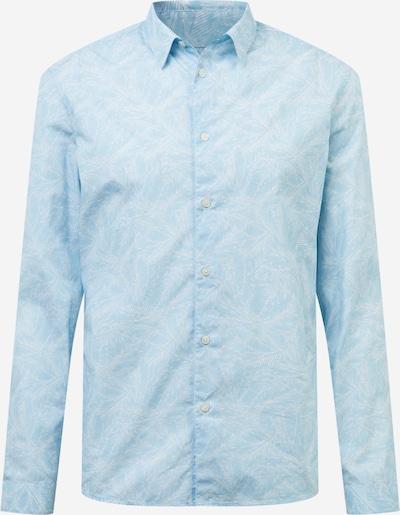 DRYKORN Hemd 'RUBEN' in hellblau / weiß, Produktansicht