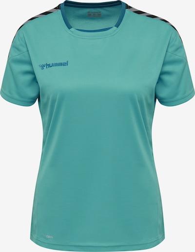 Hummel T-Shirt in blau / schwarz, Produktansicht