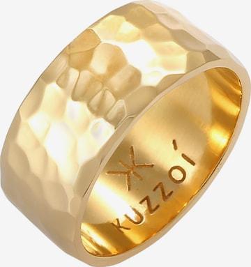 KUZZOI Ring Bandring in Gold