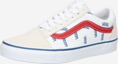 VANS Sneakers laag 'Old Skool' in de kleur Beige / Nachtblauw / Rood / Wit, Productweergave