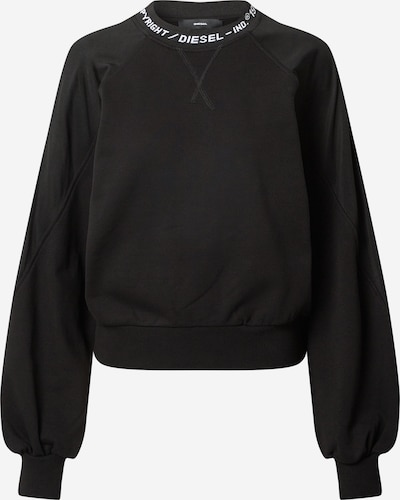 DIESEL Mikina 'F-TULIP' - černá / bílá, Produkt