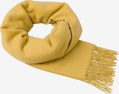 zero Schal in gelb, Produktansicht