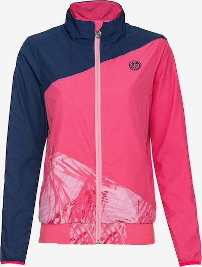 BIDI BADU Trainingsjacke Gene in einzigartigem Style in blau / mischfarben / pink, Produktansicht