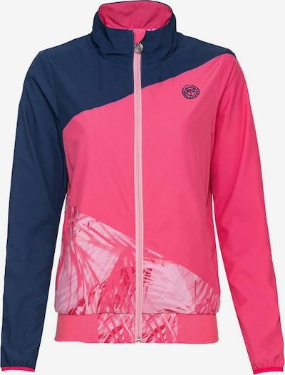 BIDI BADU Trainingsjacke 'Gene' in blau / pink / weiß, Produktansicht