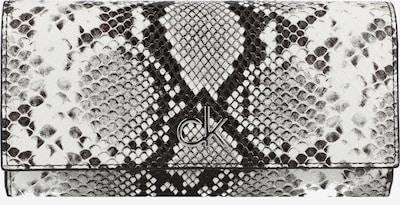 Calvin Klein Geldbörse in graumeliert / schwarz / weiß, Produktansicht