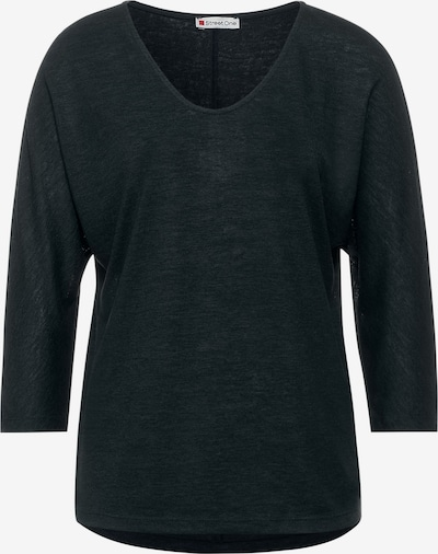 STREET ONE Shirt in dunkelgrün, Produktansicht