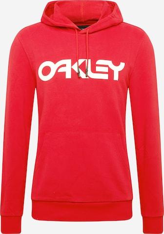 OAKLEY Sportsweatshirt 'B1B PO' i rød