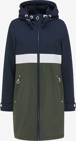 DreiMaster Maritim Mantel in nachtblau / oliv, Produktansicht