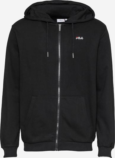 FILA Bluza rozpinana sportowa 'SASHA' w kolorze czerwony / czarny / białym, Podgląd produktu