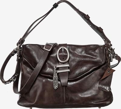 A.S.98 Handtasche in dunkelbraun, Produktansicht