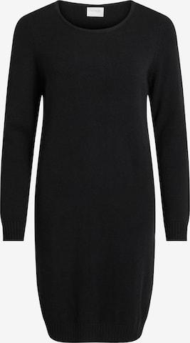 VILA Gebreide jurk 'Viril' in Zwart